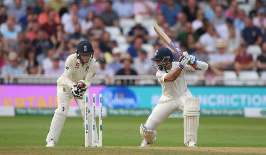 Rahane has scored two 50s so far in the series