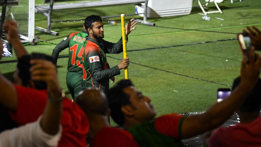 There are question marks over Shakib Al Hasan's fitness