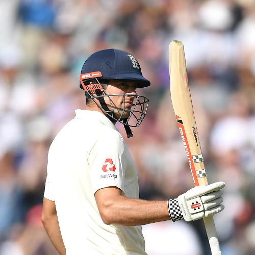 A half-century in the first innings, his first of the series