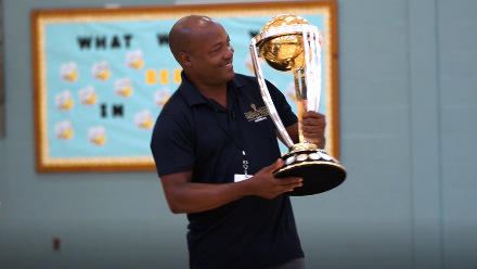 #CWCTrophyTour, driven by Nissan, visits USA