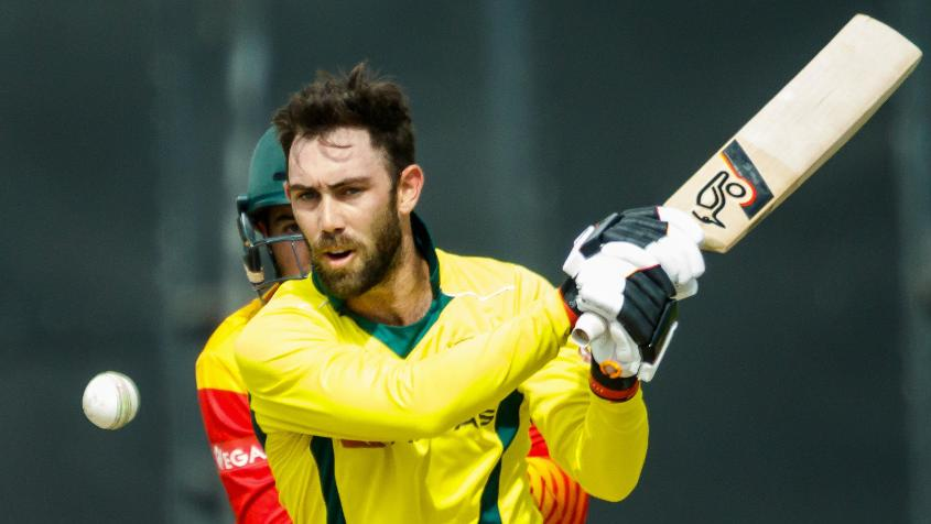 There was no room in the squad of 15 for Glenn Maxwell