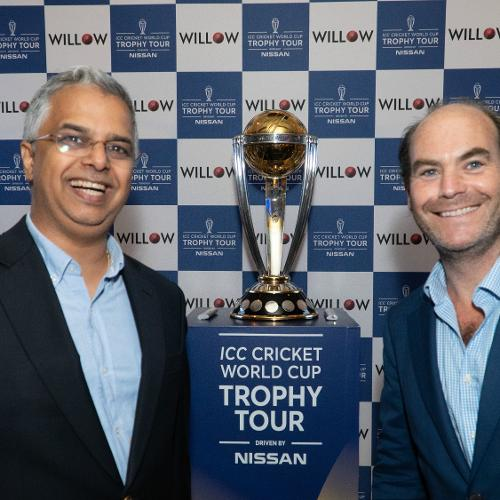 ICC Cricket World Cup 2019 Trophy Tour USA