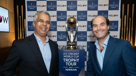 ICC Cricket World Cup 2019 Trophy Tour – USA