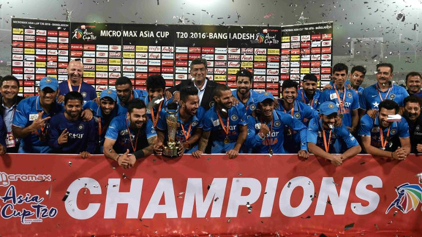 India are the defending Asia Cup champions, having won the title in Bangladesh in 2016