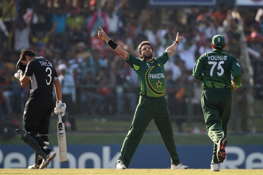 Shahid Afridi has amassed an impressive 27 World Cup appearances