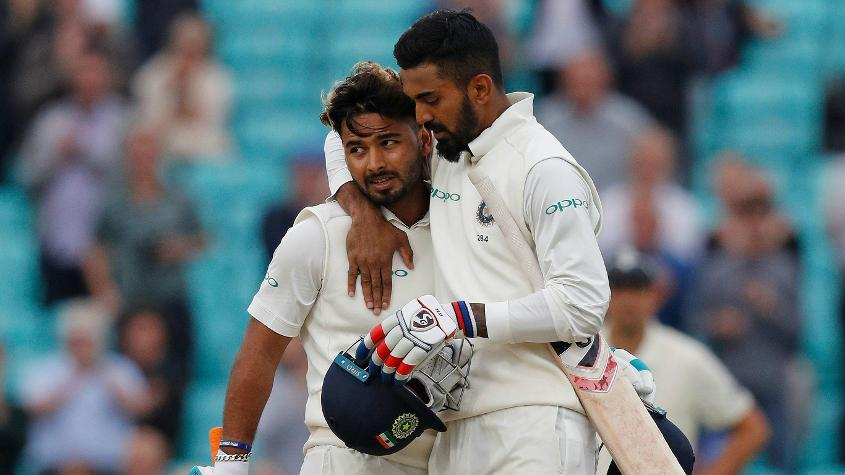 KL Rahul and Rishabh Pant scored centuries on the final day of the series