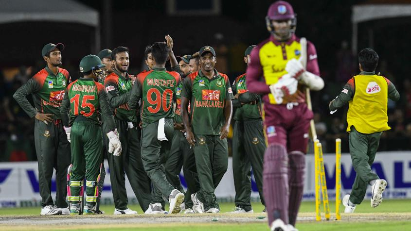 Bangladesh won a three-match ODI series 2-1 in the West Indies recently
