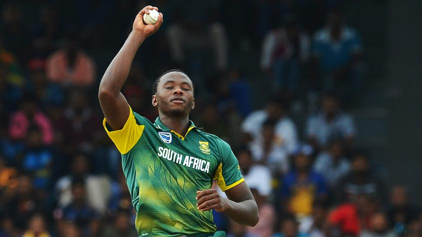 Kagiso Rabada was rested from the T20I squad