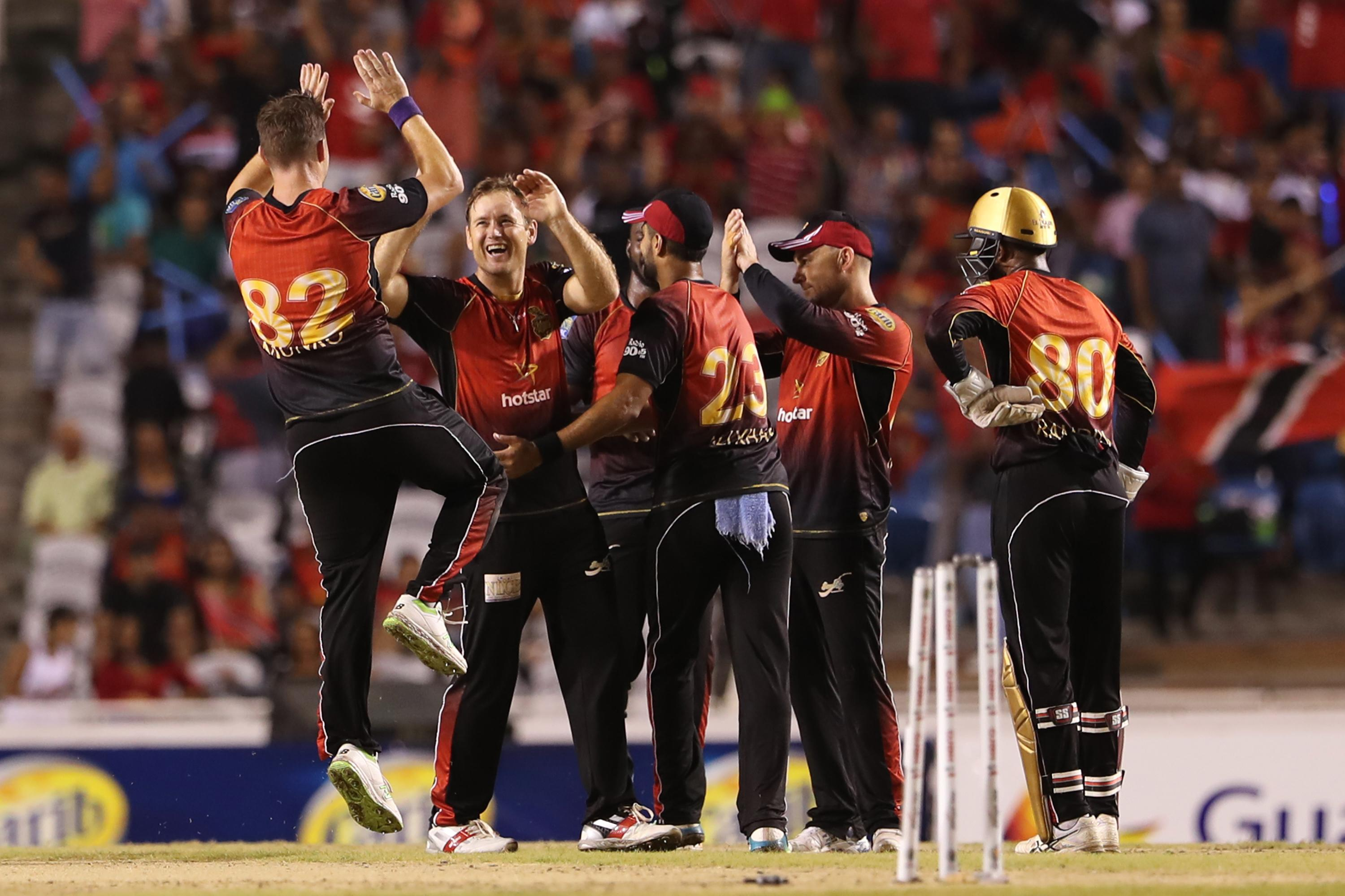 Ahmed, McCullum take Knight Riders to CPL 2018 final