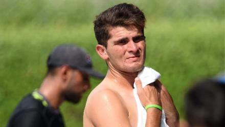 Shaheen Afridi, 18, will be an important component of Pakistan's pace attack