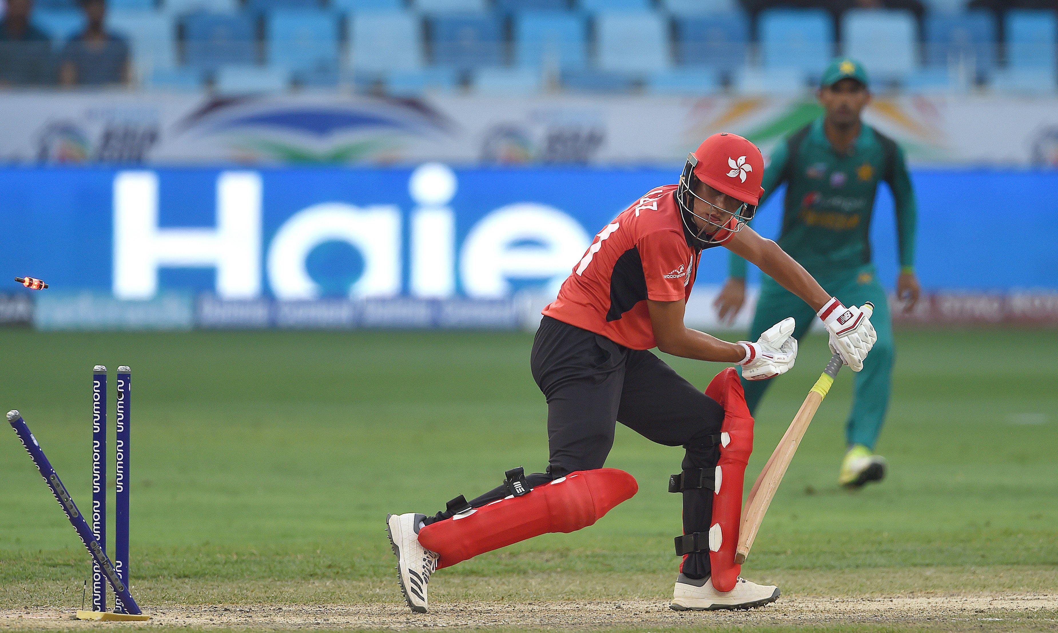 Image result for Hong Kong batsman Christopher Carter