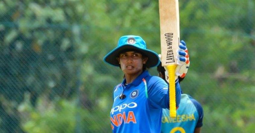 Mithali Raj scored 125* with the bat