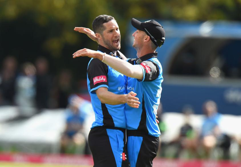 Wayne Parnell was part of Worcestershire's 2018 title-winning T20 Blast campaign