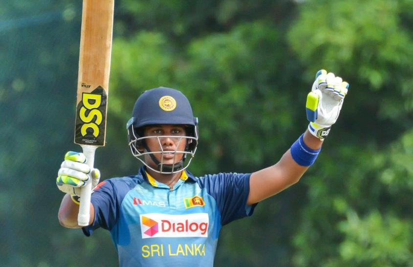Chamari Athapaththu scored a free-flowing 115 off 133 balls with 13 fours and four sixes
