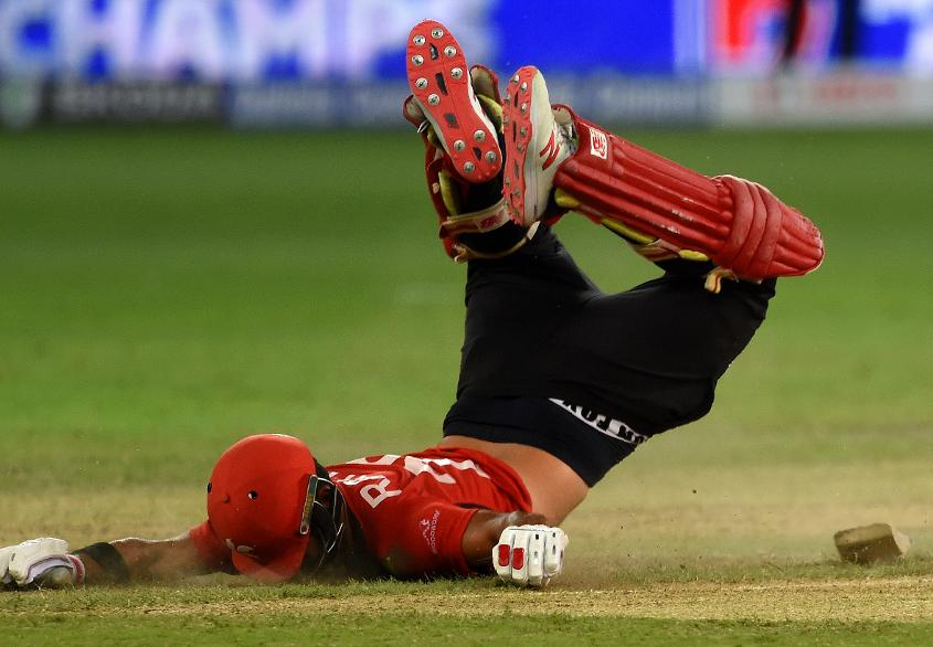 Anshuman Rath was nearly run out