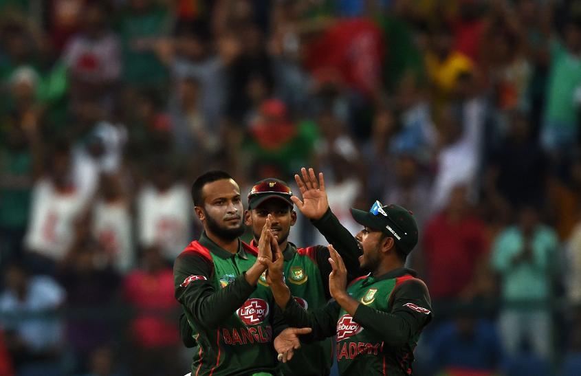 Shakib Al Hasan gave Bangladesh the early momentum