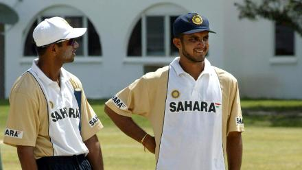 Legends' Corner – Rahul Dravid and Sourav Ganguly