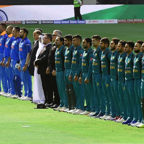 The arch-rivals took each other on in a bid to top Group A in Asia Cup 2018