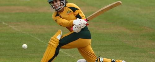 46 – Lisa Sthalekar's score on WWT20 debut