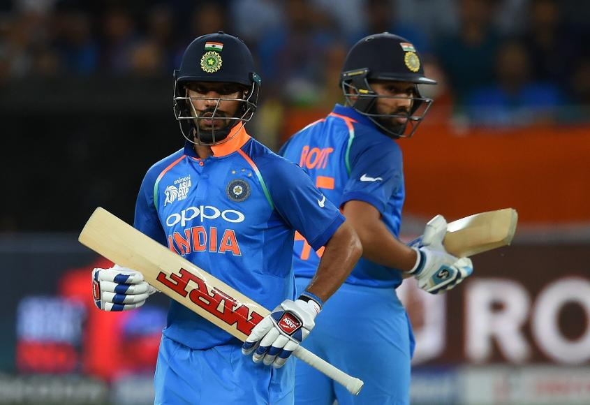 India openers in a solid opening stand as they chase 238 to win against Pakistan in the Asia Cup Super 4 stage