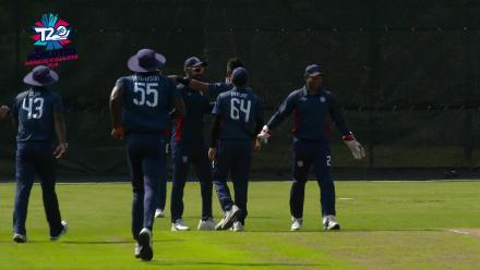 ICC World Twenty20 Americas Qualifier A: USA vs Panama – Ali Khan's first ball wicket