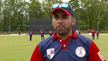 ICC World Twenty20 Americas Qualifier A: Canada v Panama – Pre-game interview (Panama)