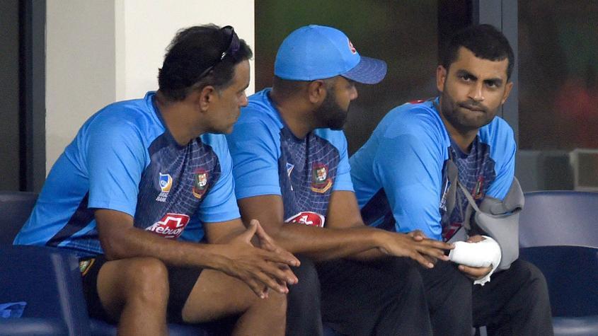 Tamim Iqbal's injury has come as a big blow for Bangladesh