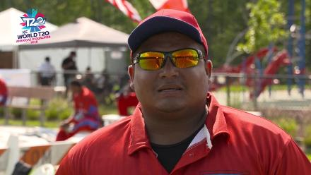 ICC World Twenty20 Americas Qualifier A: Belize v Canada – Pre-game interview (Belize)