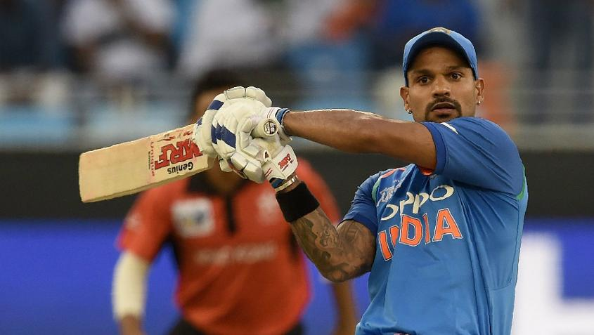 Shikhar Dhawan has been in outstanding form