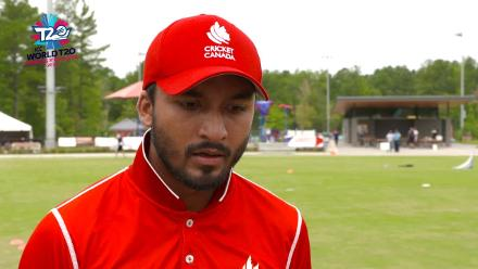 ICC World Twenty20 Americas Qualifier A: Canada v Panama – Pre-game interview (Canada)