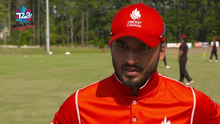 ICC World Twenty20 Americas Qualifier A: Belize v Canada – Pre-game interview (Canada)