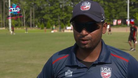 ICC World Twenty20 Americas Qualifier A: USA v Canada – Pre-game interview (USA)