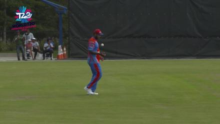 ICC World Twenty20 Americas Qualifier A: USA v Belize – Belize's first tournament wicket
