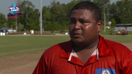 ICC World Twenty20 Americas Qualifier A: Belize v Panama – Pre-game interview (Belize)