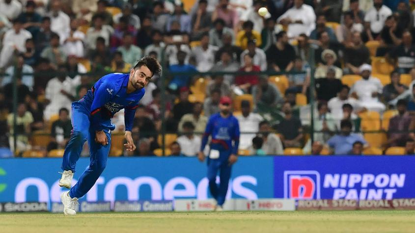 Rashid was charged and fined for giving a sendoff to Asif Ali in the 47th over of Pakistan's innings