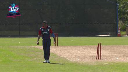ICC World Twenty20 Americas Qualifier A: Belize v Panama – Young bowled by Ahir