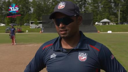 ICC World Twenty20 Americas Qualifier A: USA v Belize – Pre-game interview (USA)
