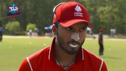 ICC World Twenty20 Americas Qualifier A: USA v Canada – Pre-game interview (Canada)
