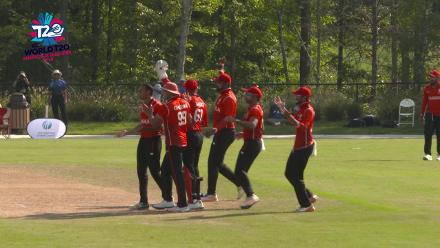 ICC World Twenty20 Americas Qualifier A: USA v Canada – Early wicket for Canada