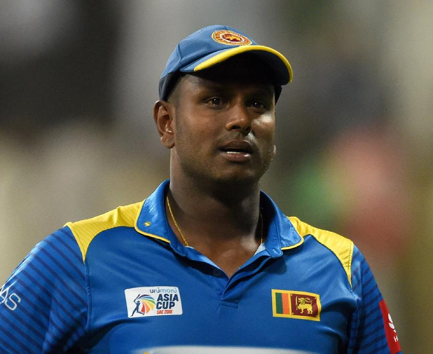 Angelo Mathews paid the price for a poor Asia Cup campaign