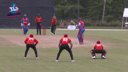 ICC World Twenty20 Americas Qualifier A: Belize v Canada – Abraash Khan's three wickets