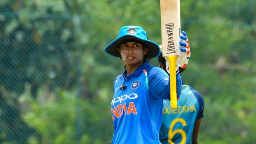 Mithali Raj has entered the top three among ODI batters