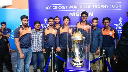 ICC Cricket World Cup 2019 Trophy Tour Sri Lanka