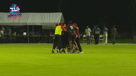 ICC World Twenty20 Americas Qualifier A: USA v Canada – Rizwan Cheema's last-ball six!