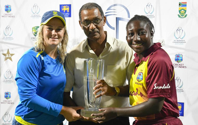 The Windies and South Africa shared the spoils after the series ended 1-1