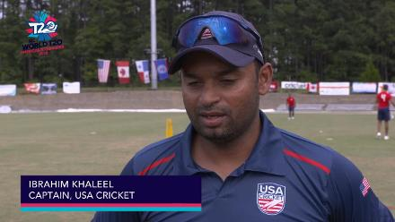 ICC World Twenty20 Americas Qualifier A: USA v Panama – Pre-game interview (USA)