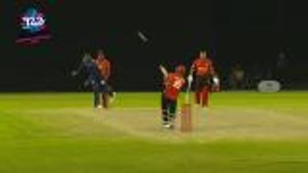 ICC World Twenty20 Americas Qualifier A: USA v Canada – Rizwan Cheema's last-ball six!