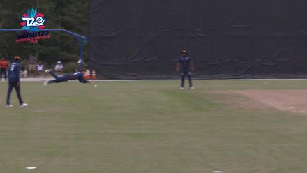 ICC World Twenty20 Americas Qualifier A: USA v Panama – David Wakefield runs out Akalwaya