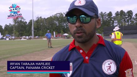 ICC World Twenty20 Americas Qualifier A: USA v Panama – Pre-game interview (Panama)