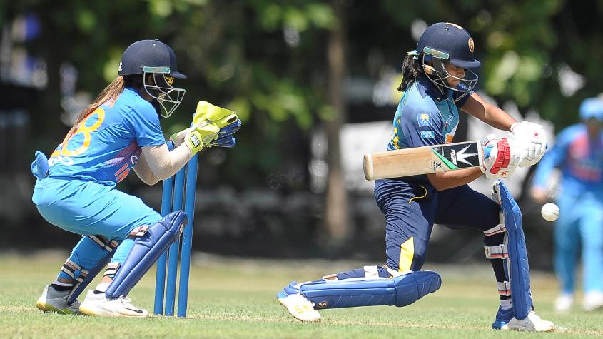 Shashikala Siriwardene impressed with both bat and ball